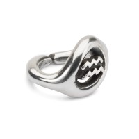 X Jewellery Aquarius, single silver link
