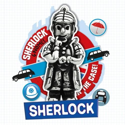 Ohm Beads Sherlock Gnome - Sherlock