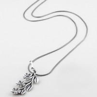 Miglio Necklace Sparkling Flowers