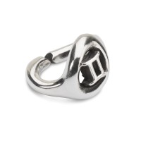 X Jewellery Gemini, single silver link