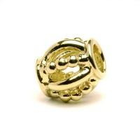 Trollbeads Königlich Gold