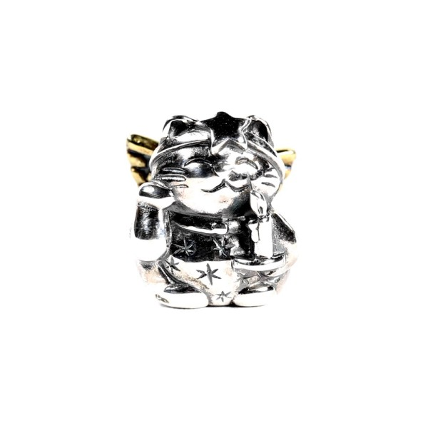 Spiritbeads Lucky Christmas Cat - Bicolor - Limited Edition