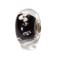 Trollbeads Universal - Diamanten Bead, schwarz
