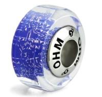 Ohm Beads Glasbead Blue Harmony