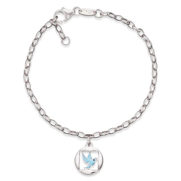 Herzengel Armband mit Friedenstaube