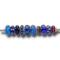 Trollbeads Glasunikate 2261-2270