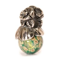 Trollbeads Forget-Me-Not Bead with Bud