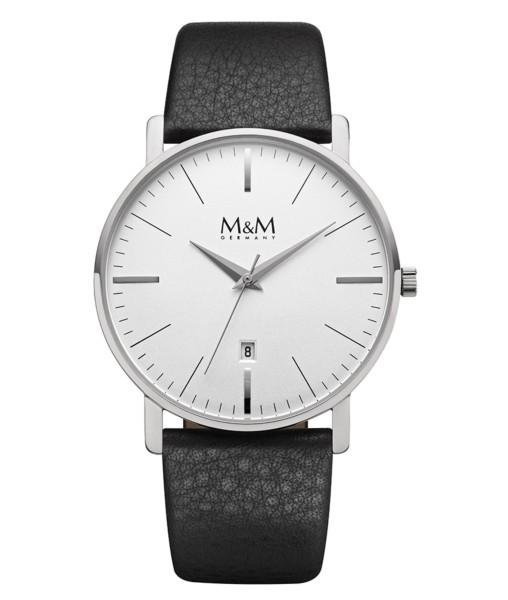 M&M Herren-Armbanduhr New Classic Analog Quarz