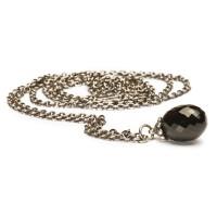 Trollbeads Fantasy Halskette mit Onyx