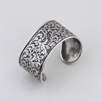 Bracelet Arabesque Cuff Bangle