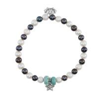 Redbalifrog Pearl & Starfish Bracelet
