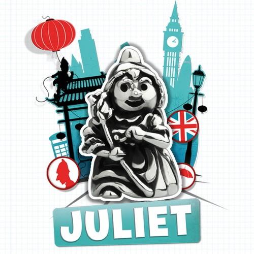Ohm Beads Sherlock Gnome - Juliet