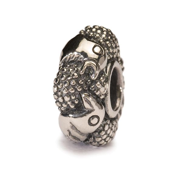 Trollbead Silber Paradies Vögel