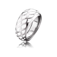 Engelsrufer Ring Emaille Weiss