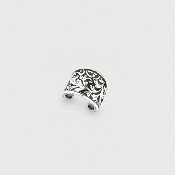 Miglio Ring Arabesque Cuff
