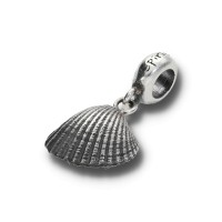 Spiritbeads Muschel Silber ohne Perle