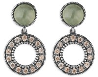 Platadepalo WOMAN Earring - Silver and Zircon