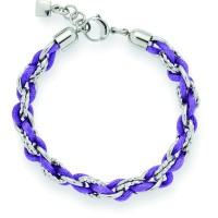 Leonardo Armband Matto Darlins lila