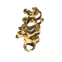 Trollbeads Bremer Stadtmuskianten Gold - Exklusiv Limited Edition