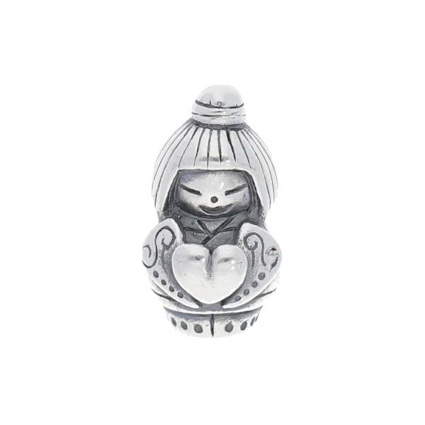 Spiritbeads Kokeshi Love Silver