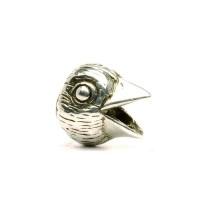 Trollbeads Silber Vogel
