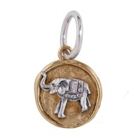 Waxing Poetic Charms Anhänger Elefant