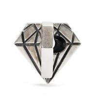 Trollbeads Ungeschliffener Diamant