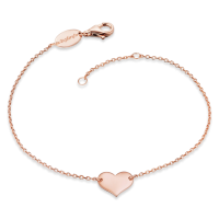 Engelsrufer Armband Herz Rosè platiniert