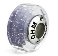 Ohm Beads Glasbead Purple Spirit