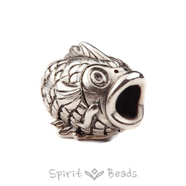 Spiritbeads Koi Silver