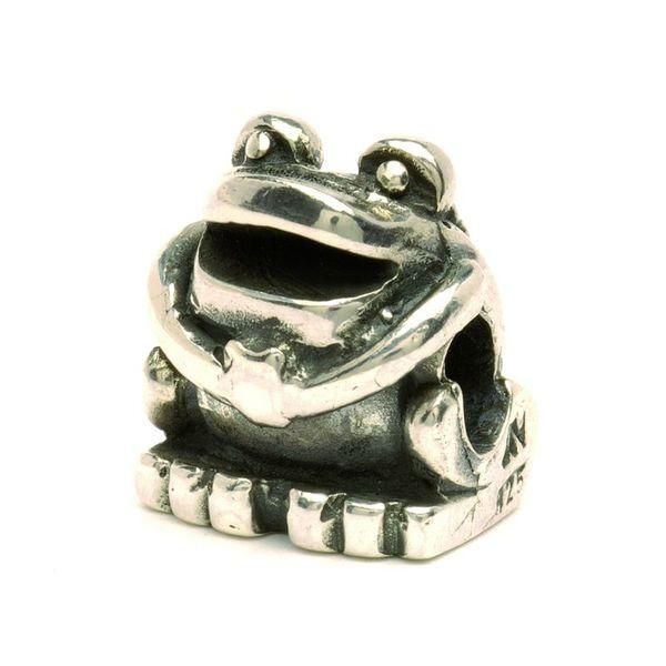 trollbeads frosch preisgruppe 3 silberbeads. Black Bedroom Furniture Sets. Home Design Ideas