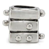 Ohm Beads Braille Charms
