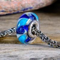 Spiritbeads Glas Blue Wave