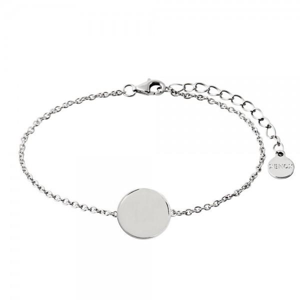 Xenox Armband Rundes Medallion - Gravierbar