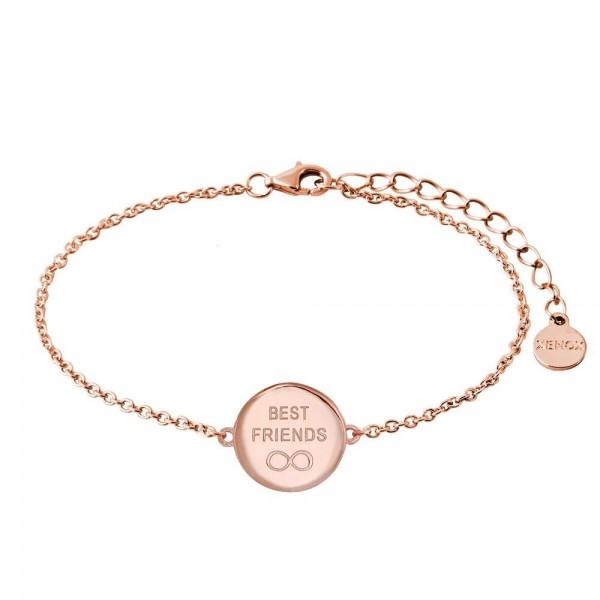 Xenox Armband Rundes Medallion Rosé Best Friends