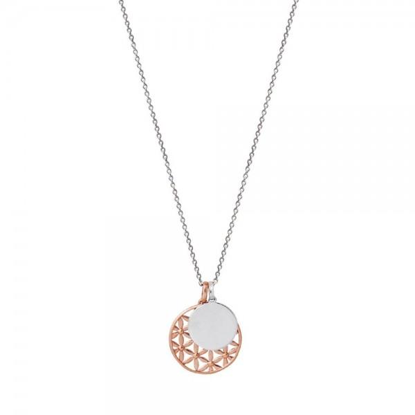 Xenox Rosé Lebensbaum mit rundem Medallion - Gravierbar