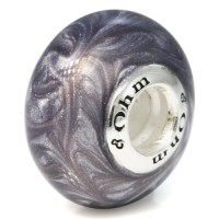 Ohm Beads Silber Lux