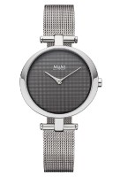 M&M Damen-Armbanduhr Ring O Analog Quarz
