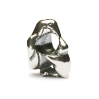 Trollbeads Pinguin mit Baby