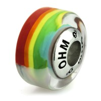 Ohm Bead Rainbowed Limited Edition