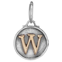 Waxing Poetic Chancery Insignia Collection Letter W