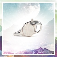 Redbalifrog Moon Face Lock Silver