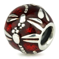 Ohm Beads Libelle Rot Emaille