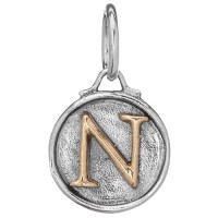 Waxing Poetic Chancery Insignia Collection Letter N