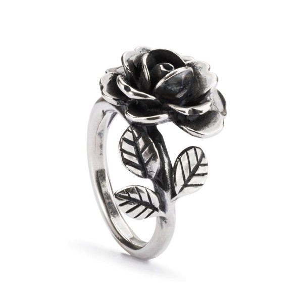 Trollbeads Rose des Herzens Ring