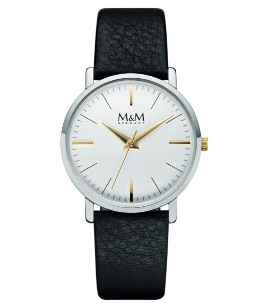 M&M Damen-Armbanduhr New Classic Analog Quarz