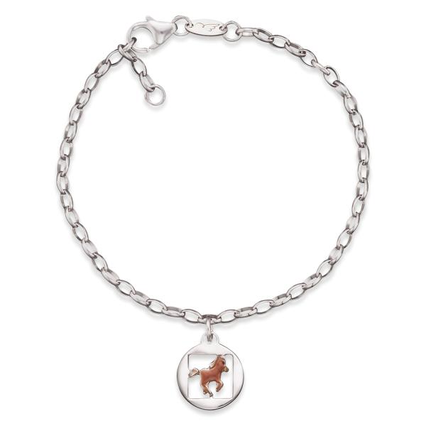 Herzengel Armband mit Pferd