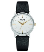 M&M Damen-Armbanduhr New Classic Analog Quarz