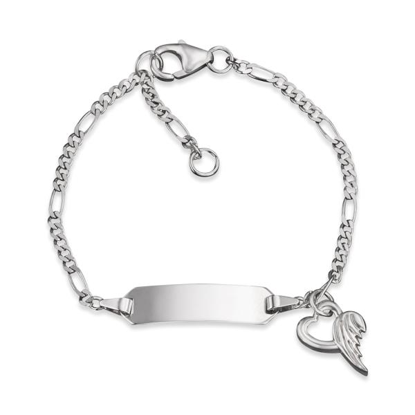 Herzengel ID Armband mit Herzengel