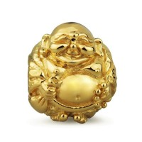 Ohm Beads Buddha 18K Gold